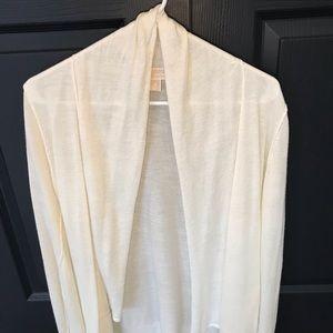 Michael Kors Open front Cardigan size Medium